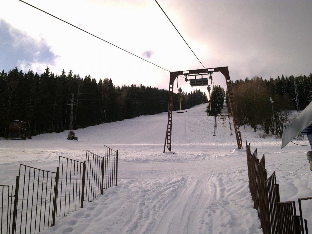 Ski areál Lišák - Stříbrná - ubytování 69b59f3f4b