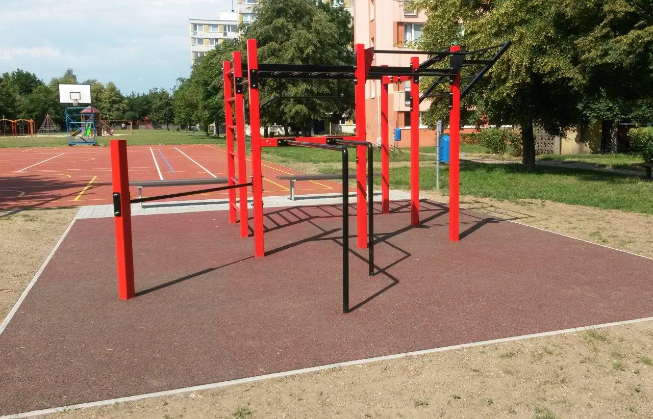 2dc3b76b781 Workout hřiště Kralupy nad Vltavou