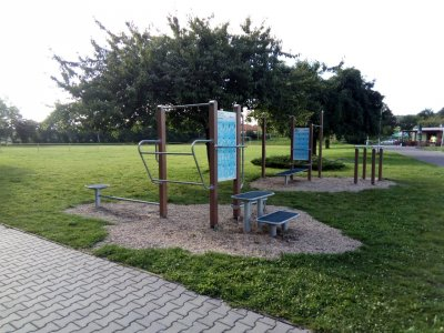 Workout park Slavkov u Brna